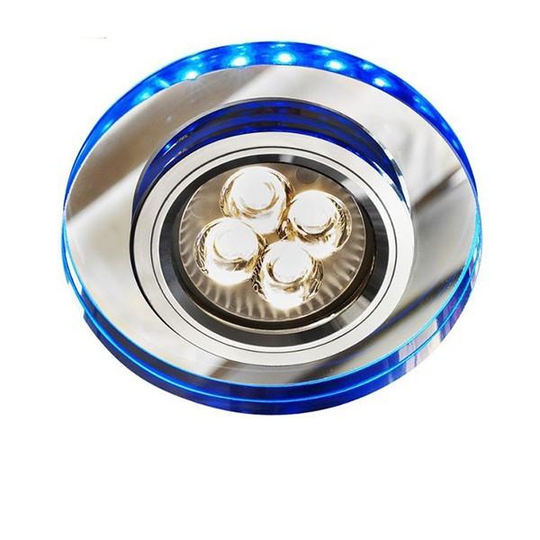 Oprawa halogenowa z paskiem LED SS-23 CH/TR+BL Candellux